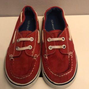 Okie Dokie canvas slip on shoes